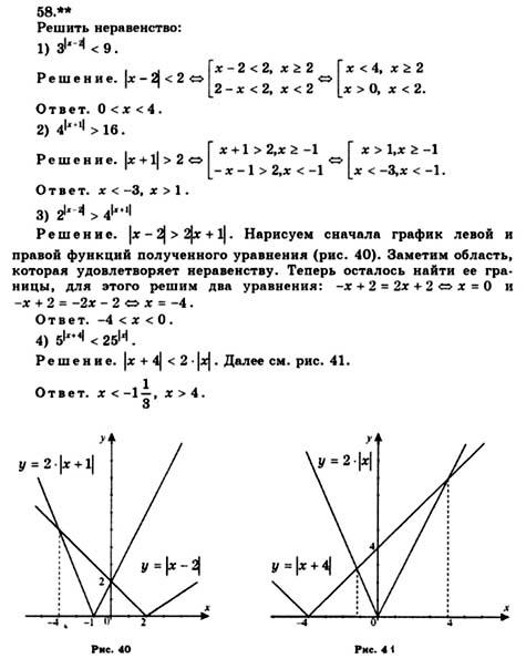Класс алгебра жижченко 10 анализа и гдз по начала