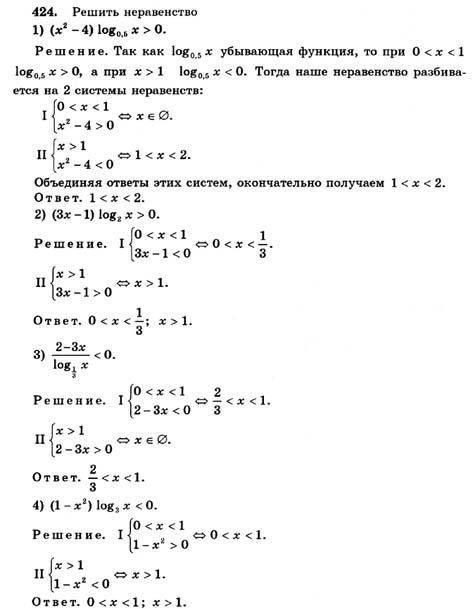Гдз по алгебре 11 класс колмогоров 1999