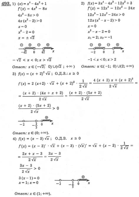 Ю гдз 10 4 алгебра