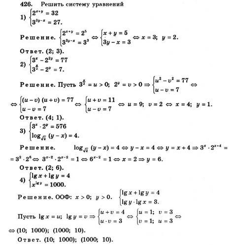Класс колягин по гдз алгебре 11 онлайн просвещение