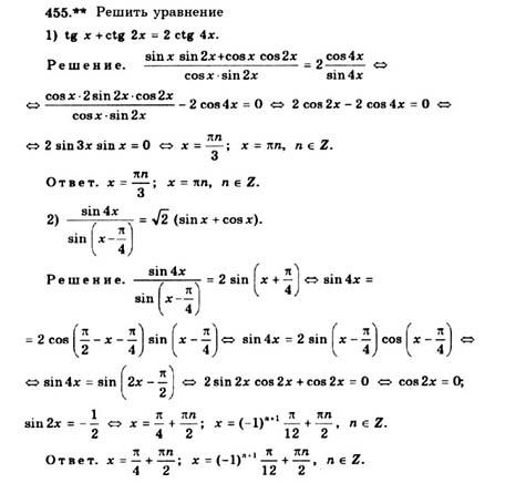 По алимов алгебре 10-11 колягин просвещение2019 гдз
