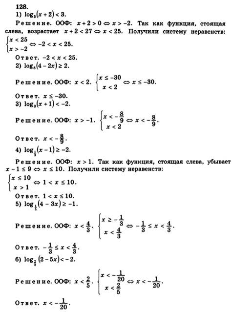 Математике 10-11 о класс гдз