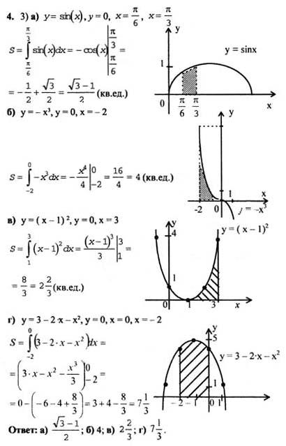 гдз алгебру 10-11 колмогоров