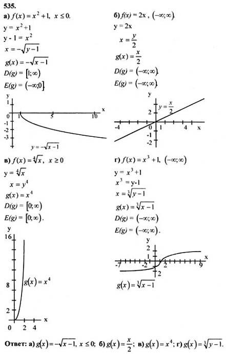 начала анализа колмогорова по 10-11 и алгебре решебник
