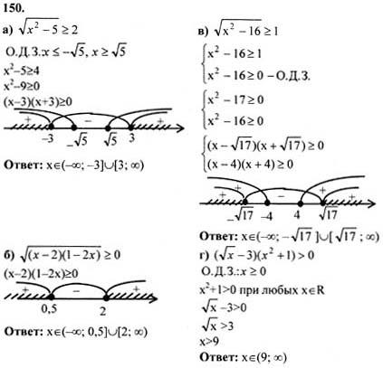 Класс началам 10-11 2007 анализа алгебре колмогоров по и гдз
