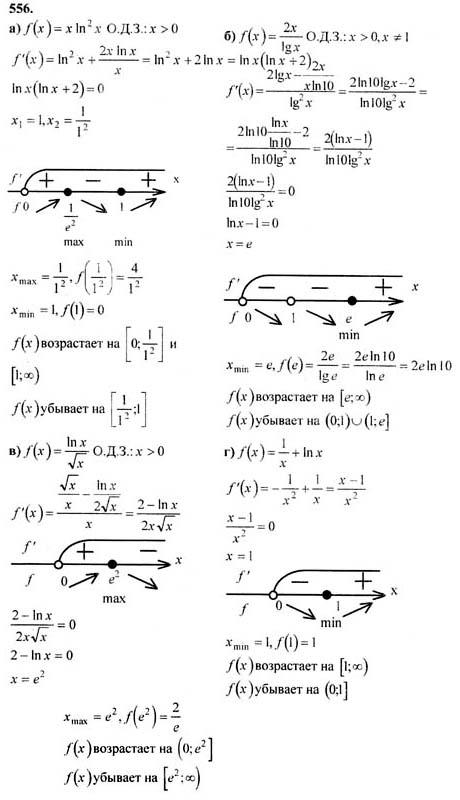 Колмогоров по алгебра класс гдз 11
