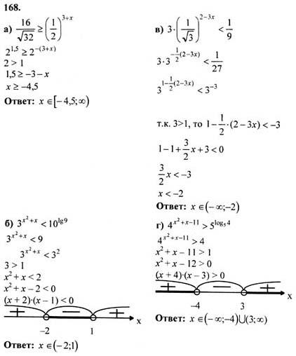 11 алгебра гдз ю 4