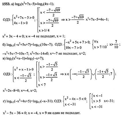 Гдз По Математике 10 Класс Мордкович Дополнительные Задачи