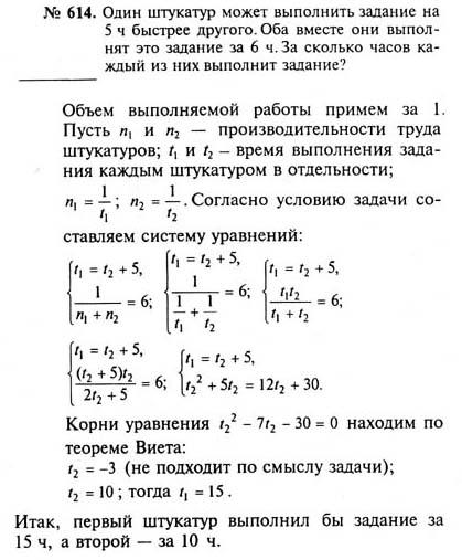 Гдз готовые домашние работы по алгебре