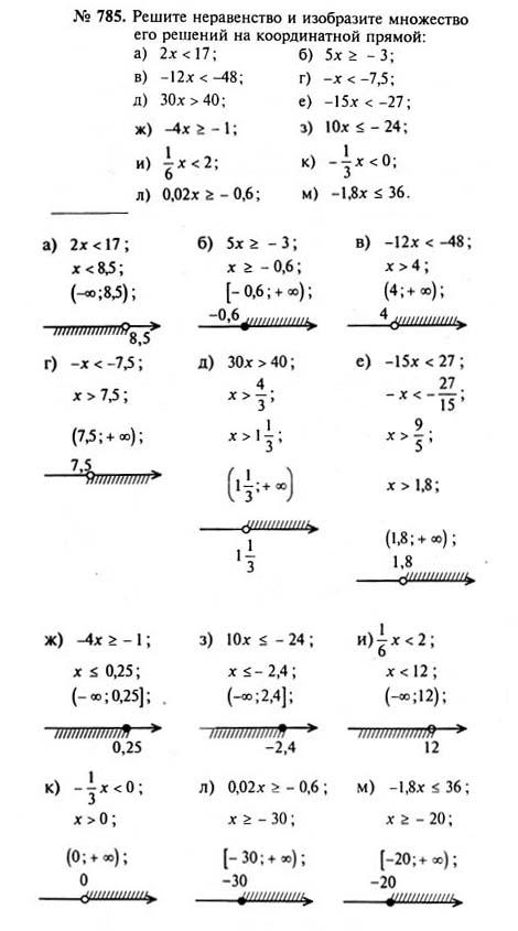 Спиши решебник по класса алгебре 8 ру макарычев