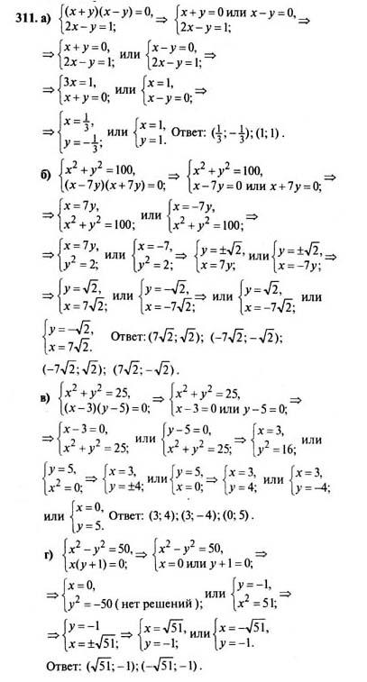Гдз по математике 7 класс 2003 год