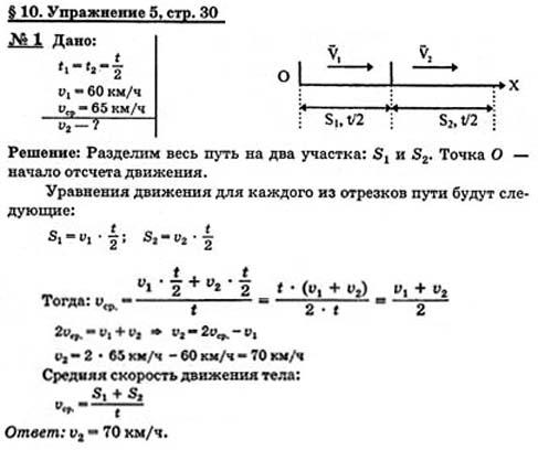 Ответы физика 9 класс гдз