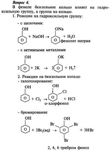 Гдз по химии 10 класс рудзитис 1999