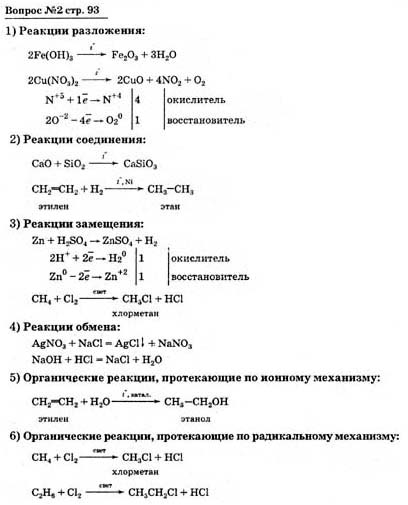 Готовые домашние задание по химии 11 класс о.с. габриелян