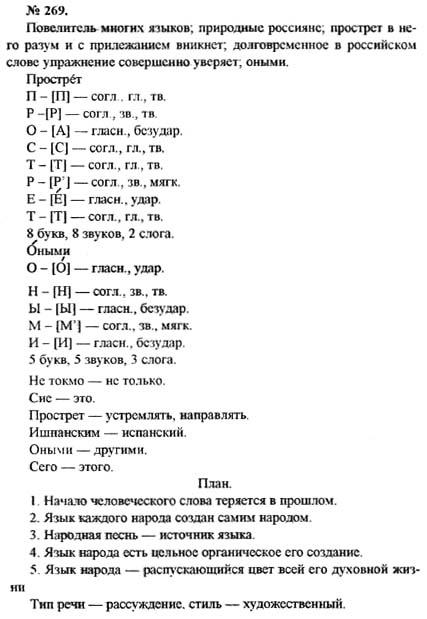 Скачать Гдз По Русскомуязыку 5 Класс Рыбченкова